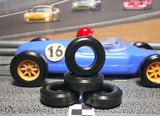1/32 URETHANE SLOT CAR TIRES 2pr PGT-22062V fit Tri-ang Scalextric F1