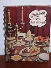 VINTAGE HARRODS 1950S SECOND BOOK OF RECIPES COOKERY COOK BOOK KITCHENALIA K8510