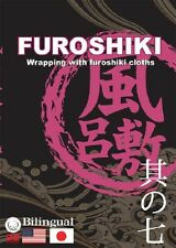 Japan DVD How to wrap with Furoshiki,8kinds of wrapping way,English speaking