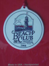 Ornement Beach Club Resort decoration Noel WALT DISNEY WORLD DISNEYLAND NEUF