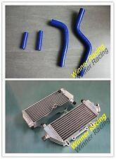 Aluminum alloy radiator&Silicone hose Yamaha YZ125/YZ 125 2005-2015 2014 Blue