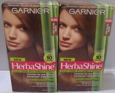 2 x Garnier HerbaShine Color Creme #630 Light Golden Brown