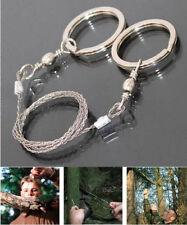 1x 360°Scie Fil Main Survie Sciage Sauvet Wire Saw Coupe Bois Camping Randonnée