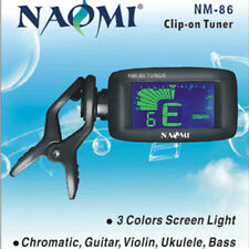 NM-86 Clip On Electric Digital Chromatic Guitar/Bass/Violin/Ukulele/OUD ETC