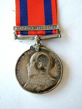 EDVII TRANSPORT MEDAL MERCHANT NAVY MERCANTILE MARINE BOER WAR BOXER REBELLION