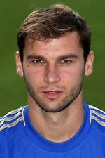Football Photo BRANISLAV IVANOVIC Chelsea 2012-13