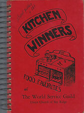 *BAY RIDGE NY 1948 ANTIQUE *UNION CHURCH COOK BOOK *KITCHEN WINNERS *LOCAL ADS
