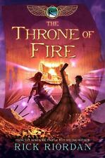 THE THRONE OF FIRE  #2 The Kane Chronicles RICK RIORDAN New PAPERBACK Kids BOOK