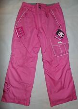 NWT 686 Paul Frank Girls Size XL 16 Julius Insulated Winter Snow Pants Pink $110