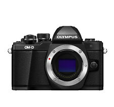 Olympus OM-D E-M10 Mark II Mirrorless Digital Camera  Only Boby - Black