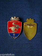 Spilla Comsubin Marina Militare Italiana Distintivo da Giacca Rosso-Blu (media)