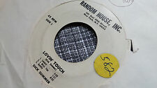Dick Summer 45 Lovin' Touch Random House Promo 6773 Radio Advertising Samples