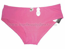 LA SENZA CHERRY TRIM GIRL SHORTS PINK WITH TRINKET 16/18 LARGE UNDERWEAR TAGGED