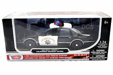 MotorMax 1993 CHEVY CAPRICE CALIFORNIA HIGHWAY PATROL 1/24 DIECAST CAR