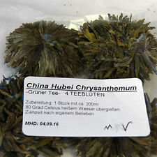(100g=€28,13)  4 China Hubei Chrysanthemum Tea - Tee Blüten