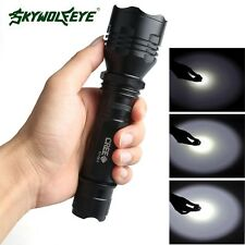 Sky Wolf Eye 4500 Lumens CREE XM-L C8 T6 LED Flashlight 18650 Torch Light Lamp