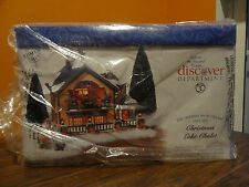VIDEO New Dept 56 55061 Christmas Lake Chalet House Cabin Lodge Village Gift Set