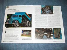 """1936 Ford Dump Truck History Info Article """"Tipping Point"""""""