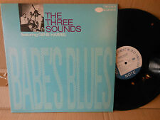 THE THREE SOUNDS GENE HARRIS babe's blues BLUE NOTE REPRESS EXC+