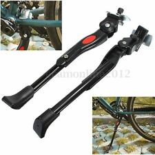 Supporto cavalletto bici bicicletta al telaio adjustable kickstand Alluminio