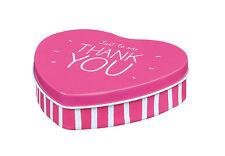 Happy Jackson - Small Heart - Treat/Trinket Tin - Just To Say Thank You