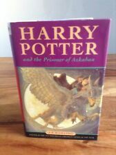 J K Rowling's Harry Potter and the Prisoner of Azkaban Bloomsbury 1st Edition