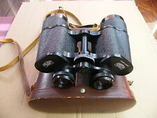 """Carl Zeiss Jena 10X50W Jenoptem"" Binoculars..made in DDR with case.."