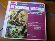 "LP 12"" LEOPOLD STOKOWSKI ORCHESTRAL MASTERP.FROM RING OF NIEBELUNG WAGNER EX++"