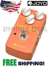 JOYO JF-36 Sweet Baby Dynamic Overdrive Low Gain Guitar Effects Pedal Tru Bypass