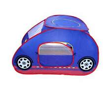 Childrens Blue Car Pop up Tent for Play Party Popup Kids Indoor Outdoor Toy