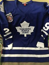 Mitchell And Ness Felix Potvin Mapleleafs Jersey Size 52