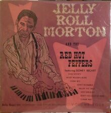 """Jelly Roll Morton & the Red Hot Peppers - Volume 4 - 10"""" LP - EX/EX- RARE Copy"""