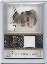 2013 Futera Jurgen Klinsmann Game Worn Training Jersey Card