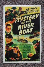 Mystery of the River Boat Lobby Card Movie Poster Robert Lowery