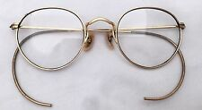 Vtg Bausch & Lomb B&L ARCO 12K Gold Filled Frame Glasses Harry Potter Eyeglasses