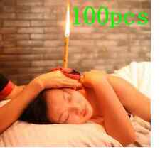 100 CANDELE PER ORECCHIE EAR CANDLE INDIAN HOPI CONICAL AROMATHERAPY EARWAX