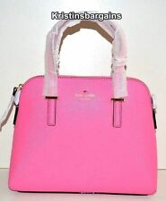NWT Kate Spade Cedar Street Maise Leather Satchel Bag Rouge Pink MSRP $298