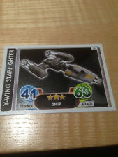 STAR WARS Force Awakens - Force Attax Trading Card #076 Y-Wing Starfighter