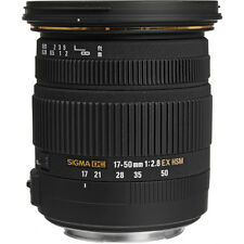 Sigma 17-50mm F2.8 EX DC OS HSM Auto Focus Wide Lens For Canon, London