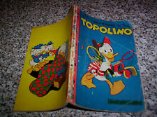 TOPOLINO LIBRETTO N.139 ORIGINALE MONDADORI DISNEY 1956 CON BOLLINO