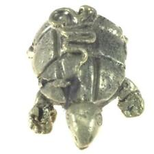 Turtle Shaped Brass Paper Weight Tibetan Nepalese Artisan Handcrafted from Nepal