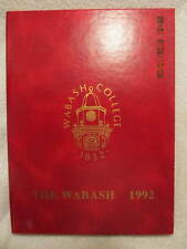 1992 Yearbook Wabash College Crawfordsville IN Vintage Photos With No Writing