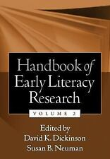 Handbook of Early Literacy Research, Volume 2-ExLibrary