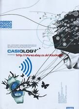 Casio The Casio Wave Ceptor Range Casiology Watch 2005 Magazine Advert #908