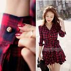 Sexy Women Summer Casual Long Sleeve Evening Party Cocktail Short Mini Dress New