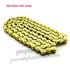 420 Chain For 4 Wheeler Rocket Sunl Taotao Kazuma 110cc 125cc Chinese ATV Quad