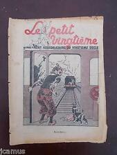 Tintin - Petit Vingtième -n°47 du 25/11/1937 (couverture Tintin) - EM