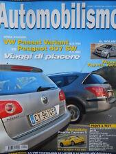 AUTOMOBILISMO n°1 2006 - Porsche Cayman S - Alfa Romeo Brera 2.2 JTS  [Q199A]