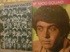 The Mod Squad, Michael Cole, Peggy Lipton, Two Page Vintage Clipping