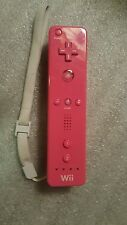 Official Nintendo Wii Remote Pink Controller Ready to Go! Free Shipping!